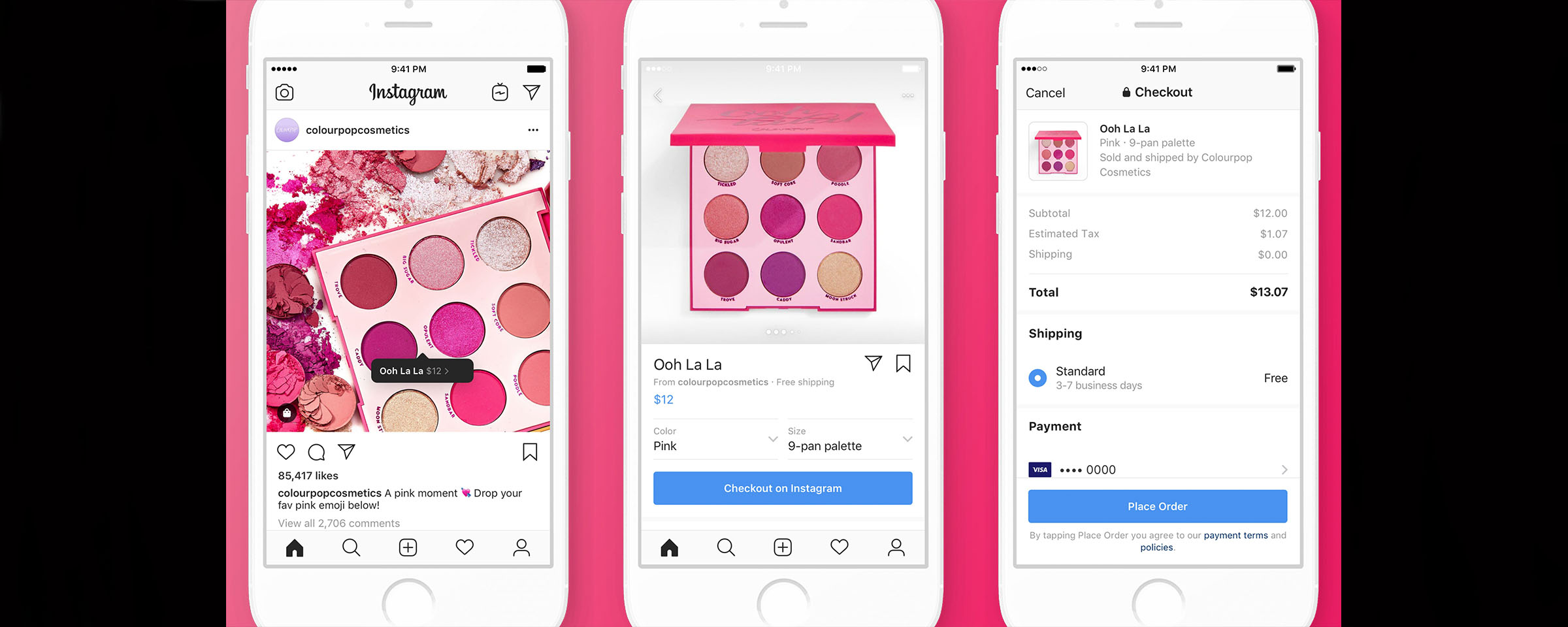 Insta-Shopping: Instagram Rolls Out In-App Checkout   FutureVision